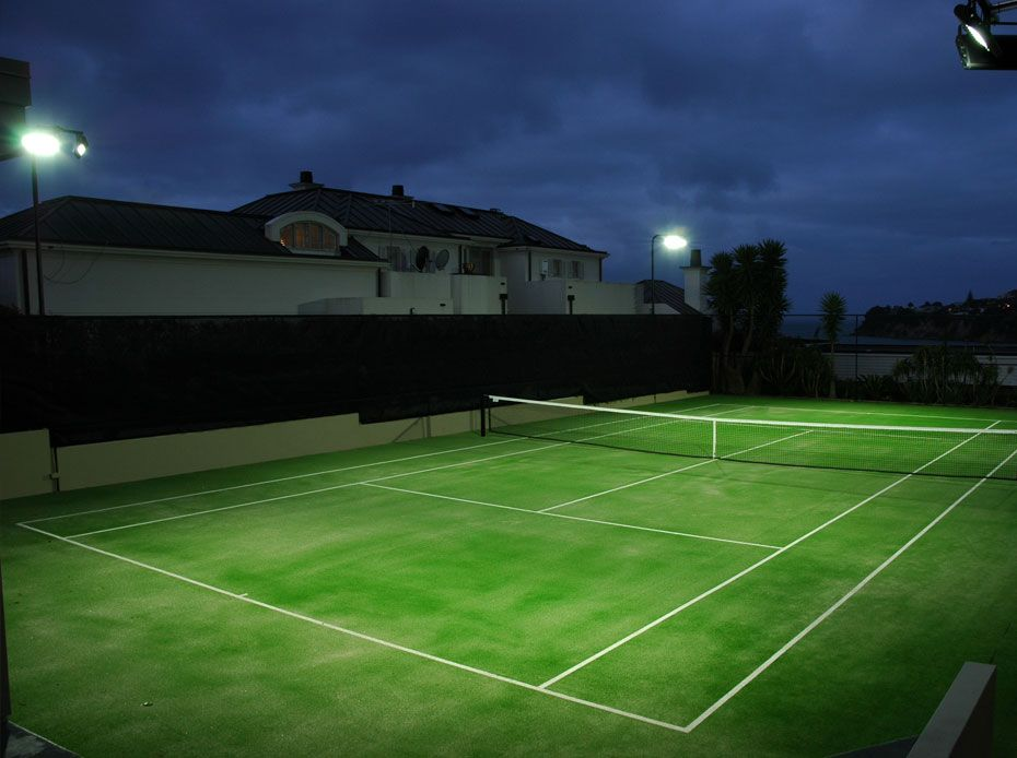 Tennis Court Lighting | Residential Electrical Services | Auckland Electrician | Good Electrical